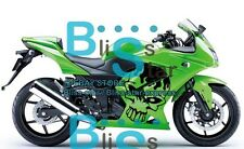 Green Fairings + Tank Cover Fit Kawasaki Ninja 250R EX250 2010 2008-2012 24 A5