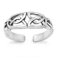 USA Seller Celtic Toe Ring Sterling Silver 925 Best Price Plain Jewelry Gift