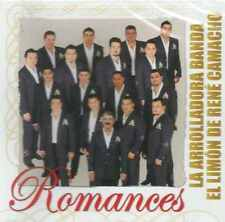 CD - La Arrolladora Banda El Limon De Rene Camacho NEW Romances FAST SHIPPING !