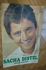 SACHA DISTEL 70s RARE AFFICHE FRENCH POSTER ORIGINAL
