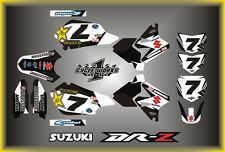 Suzuki DRZ400 DRZ 400  SEMI CUSTOM GRAPHICS KIT FACTORY BLACK