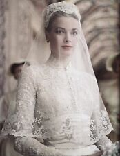 PRINCESS GRACE KELLY WEDDING DRESS 8X10 GLOSSY PHOTO PICTURE