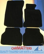 BMW E63 6 SERIES COUPE 2003-2010 TUFTED BLACK CAR MATS WITH VELCRO PADS