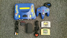Nintendo 64/N64 Pokemon Console With 2 Zelda Games Tested And Working