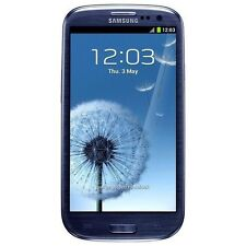 Samsung - Galaxy S III Neo Duos I9300I Cell Phone (Unlocked) - Blue