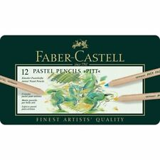 Faber-Castell 12 Pitt Pastel Pencils, In Metal case, Set of 12, BRAND NEW!!!