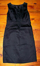 Women's THE LIMITED Sleeveless Cinched Empire Waist Little Black Dress Size 2