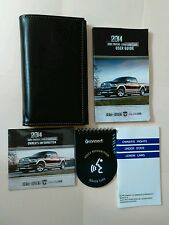 2014 Dodge Ram 1500 2500 3500 Owners Manual with warranty books, DVD  OEM
