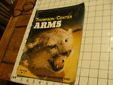 vintage Catalog: 1980 Thompson/Center ARMS catalog #7, Rochester NH, 28pgs