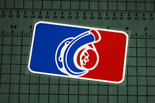 NATIONAL TURBO LEAGUE Sticker Decal Vinyl JDM Euro Drift Lowered illest Fatlace