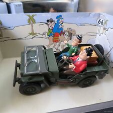LAUREL AND HARDY IN JEEP TRUCK 1:32  WWII ARMY DIECAST willys USA Military car