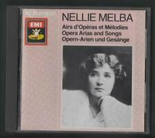 Nellie Melba - Opera Arias and Songs EMI CD A3.93