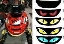 POLARIS edge rmk switchback xc pro x sled snowmobile HEADLIGHT  DECAL STICKER 2