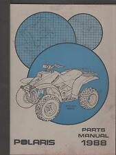 1988 POLARIS ATV TRAIL BOSS  PARTS MANUAL P/N 9911489 (763)