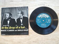 At the Drop of a Hat, Donald Swann & Michael Flanders,   7""