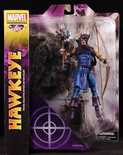"2014 MARVEL COMICS DIAMOND SELECT HAWKEYE 8"" ACTION FIGURE MIP"