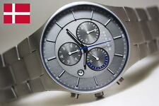 SKAGEN MEN'S ULTRA SLIM TITANIUM COLLECTION  LUXURY WATCH SKW6077
