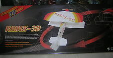 Ultrafly RADIX-3D      indoor   vintage   Rare rc avion