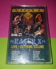 RACER X 'Extreme Volume Live' Cassette HAND SIGNED AUTOGRAPHED by PAUL GILBERT