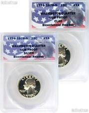 CollecTons Keepers #12-13: 1976-S Bicentennial Qtrs