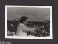 VINTAGE PRESS PHOTO / GOV. RAFAEL HERNANDEZ COLON / PUERTO RICO / 1980's / #13