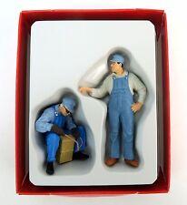 Preiser 45075 Figurenset US Gleisbauarbeiter 1:22,5, LGB OVP, neuwertig! (CT706)