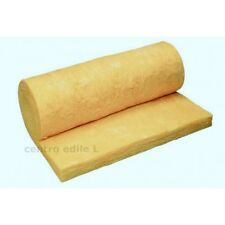 WOOL OF GLASS ROLL MQ 15,60 INSULATOR THERMAL ACOUSTIC BRICOLAGE cm 5 spess