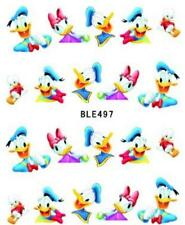 5 x Disney Donald Duck Nail Stickers Nail Art Decal Manicure Water Transfer