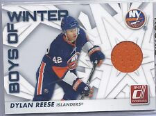 2010-2011 Donruss Hockey Dylan Reese Boys of Winter Jersey Card