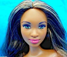 2015 Barbie Nude Fashionistas AA Grace Doll Green Eyes Model Pose 4 OOAK