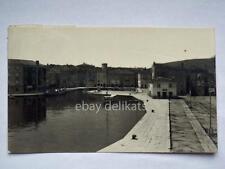 CRES CHERSO Dalmazia Quarnero porticciolo vecchia cartolina AK Croazia