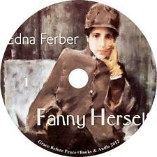 Fanny Herself, Womans Adventure Audiobook by Edna Ferber on 1 MP3 CD