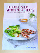 Weight Watchers Kochbuch Schnitzel & Steaks Frauen u. Männer ProPoints Plan 2014