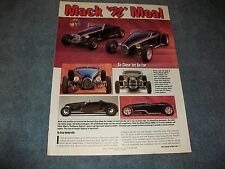 """1927 Ford Track T Hot Rod Comparison Article """"Mack 'N' Moal"""""""