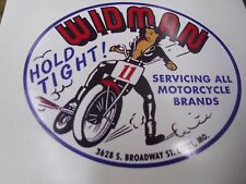 THE RACING LADY, GATEWAY TO THE WEST, WIDMAN MOTORCYCLE, , STICKER!