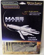 MASS EFFECT TURIAN CRUISER METAL EARTH 3D METAL METALLIC NANO PUZZLE NEW