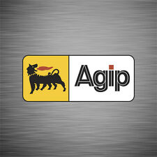SKU1010 Two (2) x Agip Stickers 64x153mm