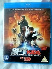 Spy Kids 4: All The Time In The World Blu-ray 3D DVD