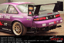 UNIVERSAL SPEC D-1 SPOILER BGW Wing Drift Track with 360mm stands