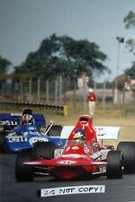 9x6 Photograph, Peterson & Cevert , Argentine GP Buenos Aires 1972
