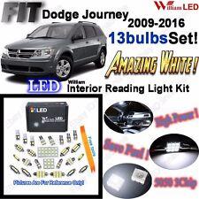 13 Bulbs LED Interior Light Kit Xenon White Lamps For Dodge Journey 2009-2015