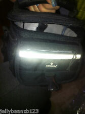 camera case SAMSONITE 2 HANDLE STRAP LOTS OF POCKETS large roomy bag PREOWNED