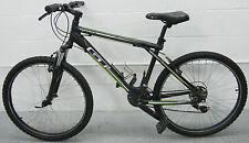 GT Aggressor 3.0 Mountain Bike Black White Green Bicycle