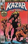 Kazar The Savage 1981 Marvel Comic #1-27/29-30 w/Dupes VG 113015DBE