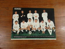 Photo-poster FOOTBALL vintage : EQUIPE TCHECOSLOVAQUIE Saison 1969-1970
