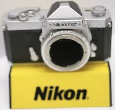 Nikon Nikkormat FT Nikkor Non-AI Lens Mount SLR Camera Body Only - Parts As-Is