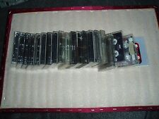 JOB LOT OF 20 MUSIC CASSETTE/TAPES/ TO TAPE OVER.