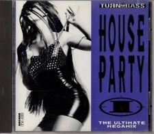 Turn up the Bass House Party 1 (1992) Praga Khan, Quazar, Moby, Cubik 22,.. [CD]