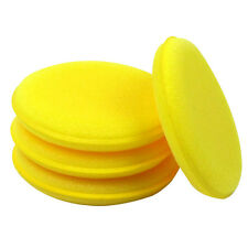 6 x Wax Sponges ~ Application Pad Car Valet Polish Waxing Cleaning Bike Wash