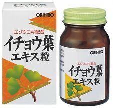 ORIHIRO NL gingko extract 240 tablets 24 days flavonoid middle age supplement